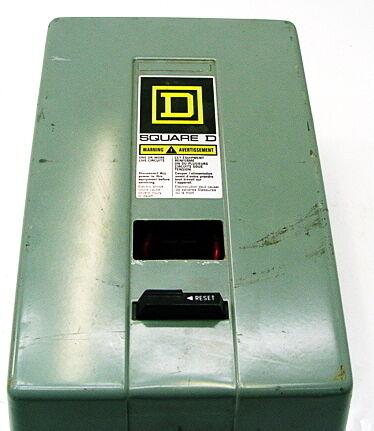 Square D 8536 SDG1 Motor Starter 30072-311-41
