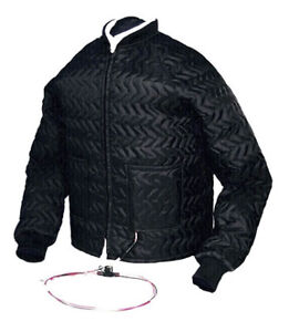 Black Jack Heated Motorcycle Jacket Liner - Men's Size 42