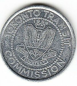 1975 Toronto Transit Commission token