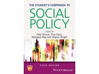 Students Companion to Social Policy (Fifth Edition) Textbook