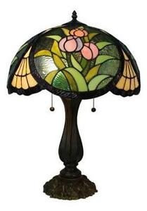 Vintage Stained Glass Lamp Shades