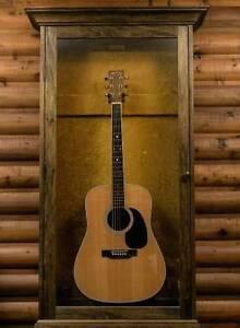 Guitar Display Cabinet And Stands