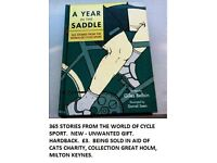 A YEAR IN THE SADDLE CYCLING BOOK