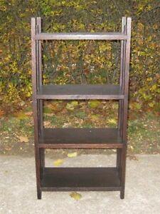 Antique Arts and Crafts Oak Bookshelf dating to the 1920's