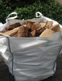firewood 2 year Seasoned logs for sale 5 bags left