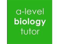GCSE - A level biology tutor