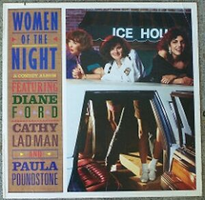 WOMEN OF THE NIGHT Comedy Vinyl 1988 - 3 Stand-Up Artists Kitchener / Waterloo Kitchener Area image 1