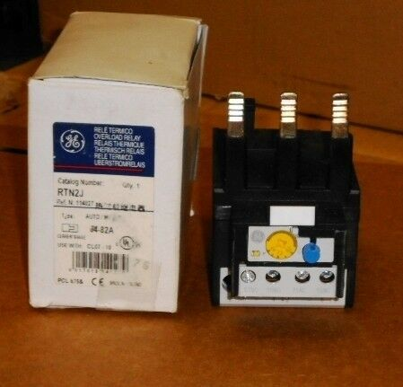 General Electric RTN2J IEC Thermal Overload RELAY NEW OPEN BOX