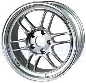 ENKEI-RPF1-Wheels-17x8-5x114-3-45mm-Offset-SILVER-STi-Rims-379-780-6545SP