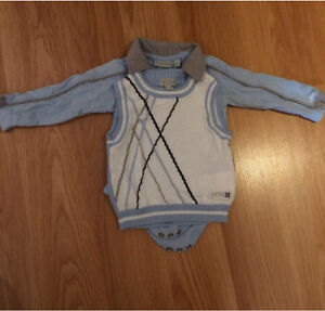Boys dress-casual photo outfit - 3-6m.