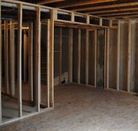 Basement Framing for $1.50 a square foot + Materials