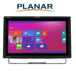 "NEW PLANAR 22"" USB OPTICAL TOUCHSCREEN MONITOR MULTI-TOUCH"