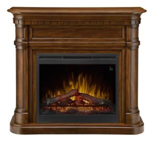 NEW Dimplex OptiMyst 28'' Electric Fireplace And log set