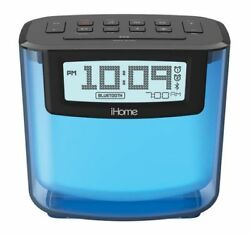 REFURBISHED IHome IBT280BC Bluetooth Color Changing Dual Alarm FM Clock Radio
