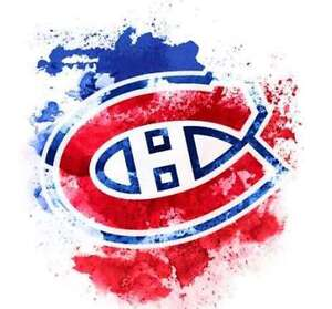 Deux Billets Hockey 250$ Section Rouge Canadiens Hurricanes