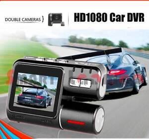 Dual Camera Car DVR HD 1080P Video Recorder Dash Cam LCD RearView Miranda Sutherland Area Preview