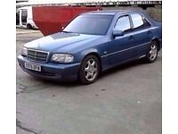 1998 MERCEDES C200 AMG SPORT 2.0 PETROL AUTO BREAKING FOR PARTS