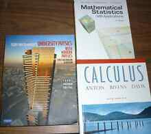 Brand New University Maths and Science Textbooks Armidale City Preview