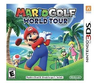 Wanted to buy Mario Golf World Tour for 3DS