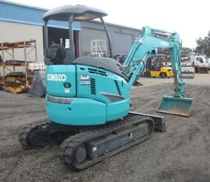 Kobelco SK30SR-6 2015 Mini Excavator Rent To Own  $499 Per Week Mount Druitt Blacktown Area Preview
