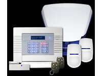 Wireless Intruder Alarm System (Supply and Fully Installed by expert installers)