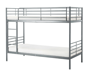 Ikea Svarta Bunk Bed frame - perfect condition - nearly new Mosman Mosman Area Preview