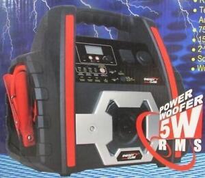 NEW ENERGY CUBE 400W POWERPACK - 107536831 - PEAK 750AMP MULTIFUNCTIONAL RECHARGEABLE POWERPACK