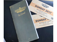 Goodwood Revival Ticket Sunday 10th September