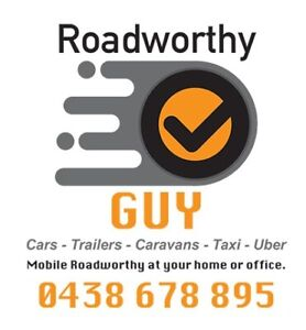 Mobile Roadworthy Certificates from $79
