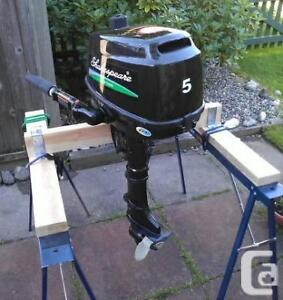 Wanted 5 hp outboard in Saint John or close by