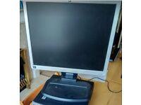 """Monitor HP L1940T 19"""" LCD."""