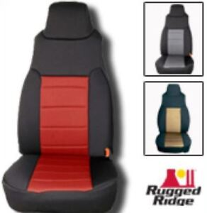 Rugged Ridge Jeep Neoprene jk Seat Covers@offroad addiction London Ontario image 1