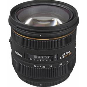 Sigma 24-70mm f/2.8 EX DG pour CANON 450$