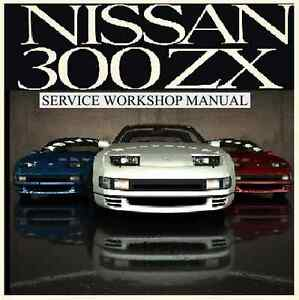 nissan 300zx 1989 90 91 92 93 94 95 1996 workshop repair. Black Bedroom Furniture Sets. Home Design Ideas