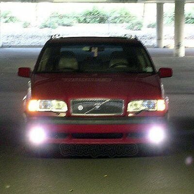 - 1995 1996 1997 Volvo 850 T5R T5-R T5 R Xenon Fog Lamps Driving Lights Foglamps