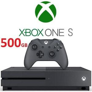 REFURB XBOX ONE S 500GB CONSOLE SG MICROSOFT - VIDEO GAMES - ELECTRONICS  - STORM GREY SPECIAL ED SYSTEM 108148026