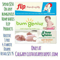 Free Bugmenius 4.0 Diaper when you spend $150.00 on CB products