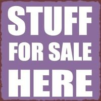 Lots of things for sale