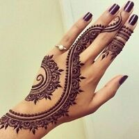 Beautiful henna tattoos - private sessions or henna parties