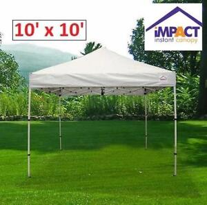 NEW IMPACT 10' x 10' INSTANT CANOPY BOOTSHDKWT 199795402 BOOT SHADE KIT