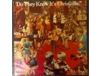 DO THEY KNOW ITS CHRISTMAS - BAND AID 12ins VINYL