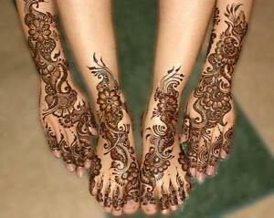 Henna Designs /bridal henna,Henna Party(chamicals Free) Stratford Kitchener Area image 9