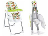 Mamas and Papas Pesto Pear high chair x 2