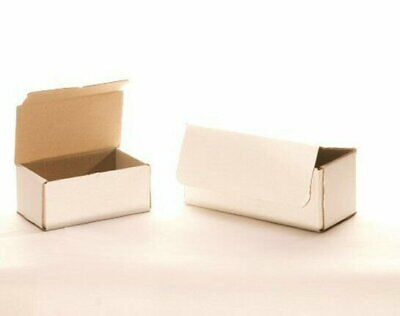 50 12 X 9 X 2 White Corrugated Mailers Die Cut Tuck Flap Boxes Free Shipping