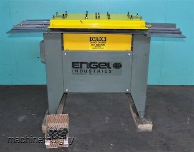 Engel Hb-825 Slip Drive Rollformer With Pittsburgh Combination 3-in-1 Rolls