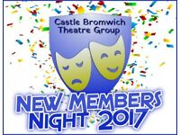 Try Amateur Drama in your spare time - Theatre Group in Castle Bromwich!