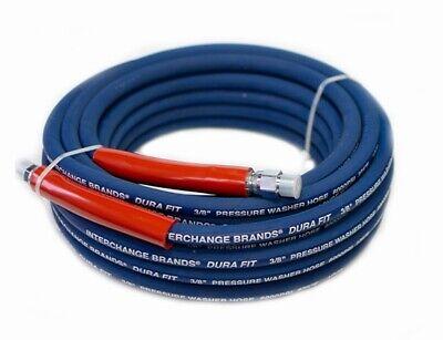 Interchange 3654 100 Ft 38 Blue Non-marking 6000psi Pressure Washer Hose