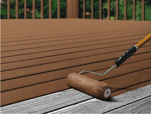 Summer Yard Maintenance and Deck Staining