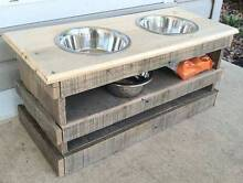 Dog Bowls - Hand Made Pallet Bowls Broadbeach Waters Gold Coast City Preview