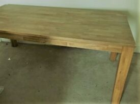 Oak Dinning Table with Extension